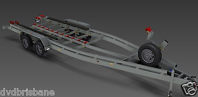 Trailer Plans - BOAT TRAILER PLANS - 7m(21ft) Monohull -PLANS ON USB Flash Drive 3