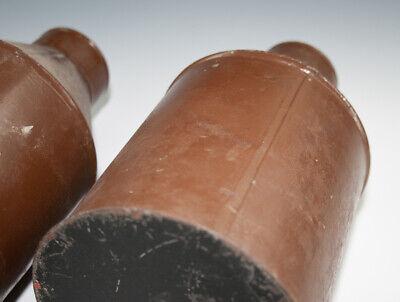 2 x Gefäße aus Blech RADIX EBULI CONC. + FOL. BUCCO wohl um 1920 5