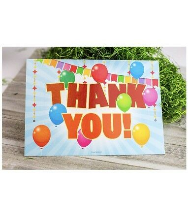 25 Kids Thank You Cards With Envelopes For Kids Birthday Thank You