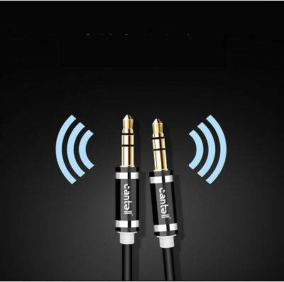 Cantell 2M 3M 3.5mm Male to Male AUX Stereo Audio Cable Speaker Auxiliary Cord 10