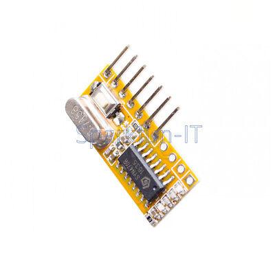 RXC6 433Mhz Superheterodyne Wireless Receiver PT2262 Code Steady for Arduino 3