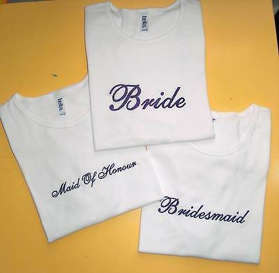 Personalized BRIDE TO BE  Wedding T Shirt ADD RHINESTONES! Bridal Shower Gift!