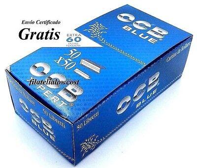 Papel De Fumar OCB X Pert Rolling Paper Caja 50 Libritos De 60 Hojas Tabaco 2