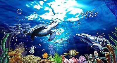 3d Undersea World 992 Wallpaper Murals Wall Print Decal Wall Deco Aj