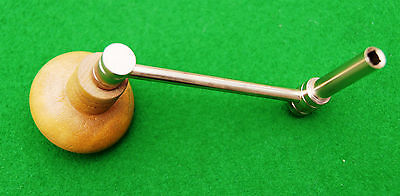Antique Longcase Clock Crank Key No 13 (5.50 mm Square 9 mm Shaft)