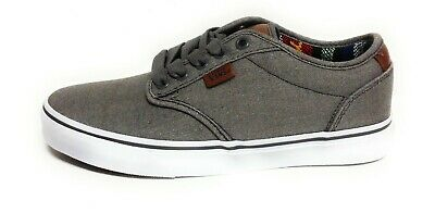Wall Off Casual The Deluxe Vans Grey White Mens Atwood y7vIbYf6g