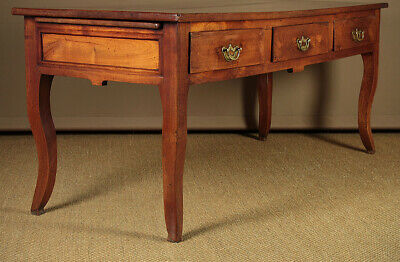 Antique 19th.c. French Cherrywood Kitchen Table c.1810. 7
