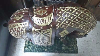 Exclusive Piece.al Andalus Palace Ornamental Big Wooden Horse Museum 2