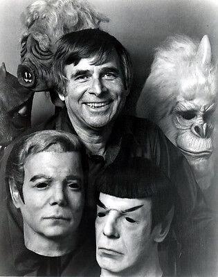 Leonard Nimoy Life Mask from 1975 Don Post Studios Spock Mask not Kirk 75 Myers 6