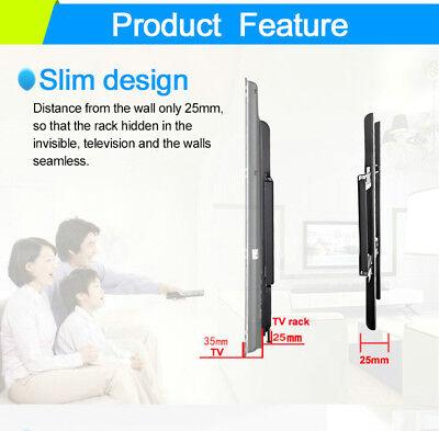 TV Wall Mount Bracket LCD LED Plasma Flat Slim 14 32 40 42 47 50 52 55 60 65 70 5