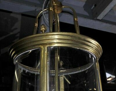 Victorian Ormolu Lantern Light Lamp Architectural Chandelier 6
