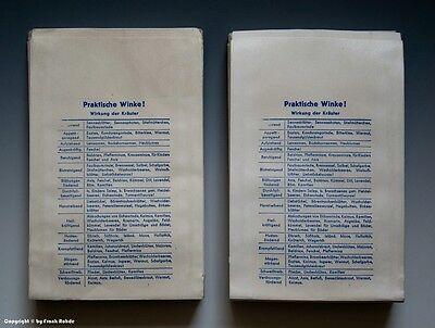 Konvolut etwa 95 gleichartige Tüten aus Drogerie in HAMM wohl um 1960 (mittel) 4