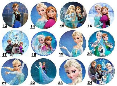 Tortenaufleger Frozen Eiskönigin Elsa - Geburtstag-Party-Tortenbild 2