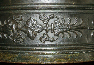Italien Bronze Mörser Apotheke Postament Sizilien Catania Zanghi 1520 / 1820 12