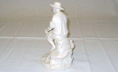 "REG JOHNSON & Sons Figurine FISHER BOY Made in England 7"" x 4"" (178 mm x 102 mm) 4"