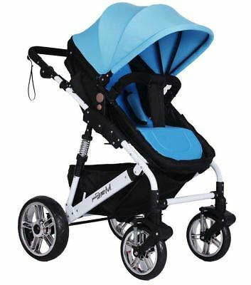 Baby Boy Toddler Child Soft Cushion Protect Pad Cover Blue Seat CHICCO Stroller 3