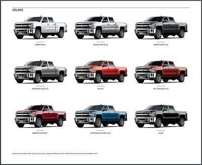 2017 Chevrolet Silverado Hd Truck 42 Page Original Car S Brochure Catalog 2