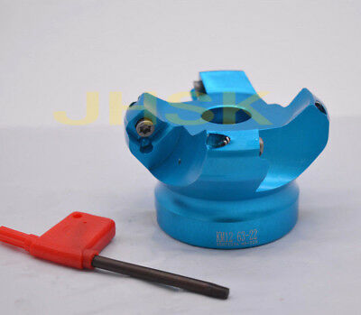 KM12 63-22-4F indexable face milling cutter 63mm Bore 22mm 45 Degree  SEHT1204