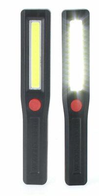 24 Hand Held LED 200 Lumen Work Lights Shop Flashlight 3 Modes W//Magnet FL224WL