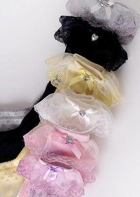 Baby Girls Children Toddler Cotton Knee High Frilly Trim Socks 9 months-6 years 4