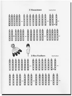 Earth Songs Song Book for 5 hole Native American Flute