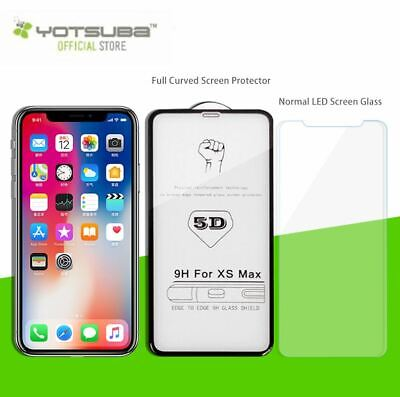 iPhone 11 Pro XS Max XR X 9H Full Coverage Tempered Glass Screen Protector Apple 7
