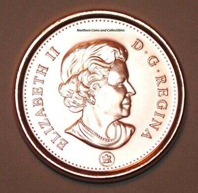 2012 1 Cent Canada Zinc Nice Uncirculated Canadian Penny Non Magnetic 2