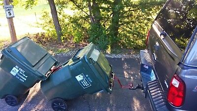 Bighorn Trash Hitch™ - Easy Trash Can Hauler 7