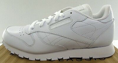 9b64dbaef ... Reebok Classic Leather Junior White/White - J90139 Youth Sizes NWD NO  BOX 4