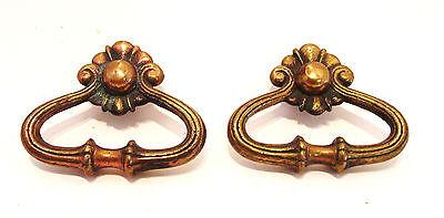Pair Cast Brass Adornment Pieces - Antique Hardware 4