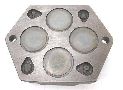 "Ventilblock | Ventilplatte | Ventilinsel | 3/8"" | 105 x 80 x 30 mm"