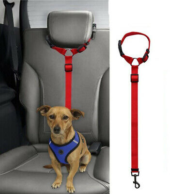 Adjustable Car Safety Seat Belt Harness Travel Lead Restraint Strap For Dog Pet 8