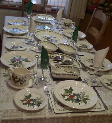 Portmeirion The Holly And The Ivy Tableware - Various - Plates - Bowls New 4