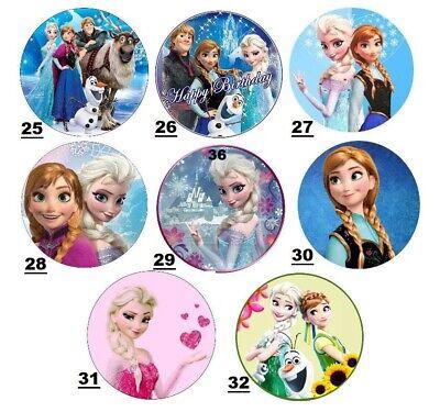 Tortenaufleger Frozen Eiskönigin Elsa - Geburtstag-Party-Tortenbild 3