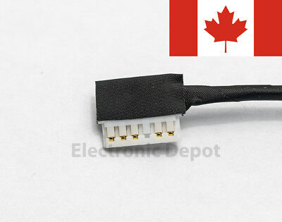 New Dell Inspiron 15 5565 5566 5567 17 5765 5767 DC Jack w/ Cable R6RKM 0R6RKM 4