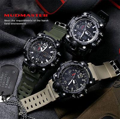 SMAEL Mens Sport Watches Military Shock Analog Quartz Digital Waterproof Watch S 3