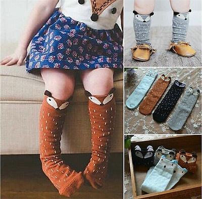Baby Kids Girls Cotton Fox Tights Socks Stockings Pants Hosiery Pantyhose 11