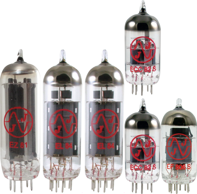 TUBE SET FOR 65 Amps London guitar amplifier vacuum valve tubes JJ  Electronics