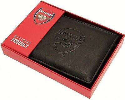 Debossed Crest Leather Football Club Sports Team Money Card Wallet Purse 5