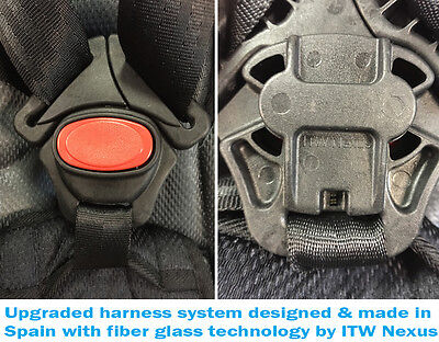 MCC® 3 in 1 Child Baby Car Seat Safety Booster For Group 1/2/3 9-36kg ECE R44/04 5