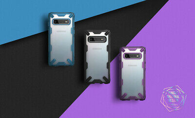 For Samsung Galaxy S10 Plus Case Ringke [FUSION-X] Shockproof Armor Bumper Cover 3