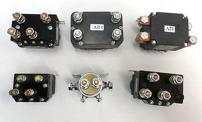 WINCH SOLENOIDS 12v 24v 100 - 600 AMP Heavy duty for recovery or off road 4x4