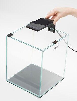 AQUAEL Nano Aquarium Shrimp Set 30 L schwarz mit LED Beleuchtung inkl. Zubehör