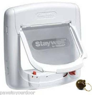 Staywell Petsafe 400 Magnetic Cat Flap / Pet Door Catflap Multi Key Options