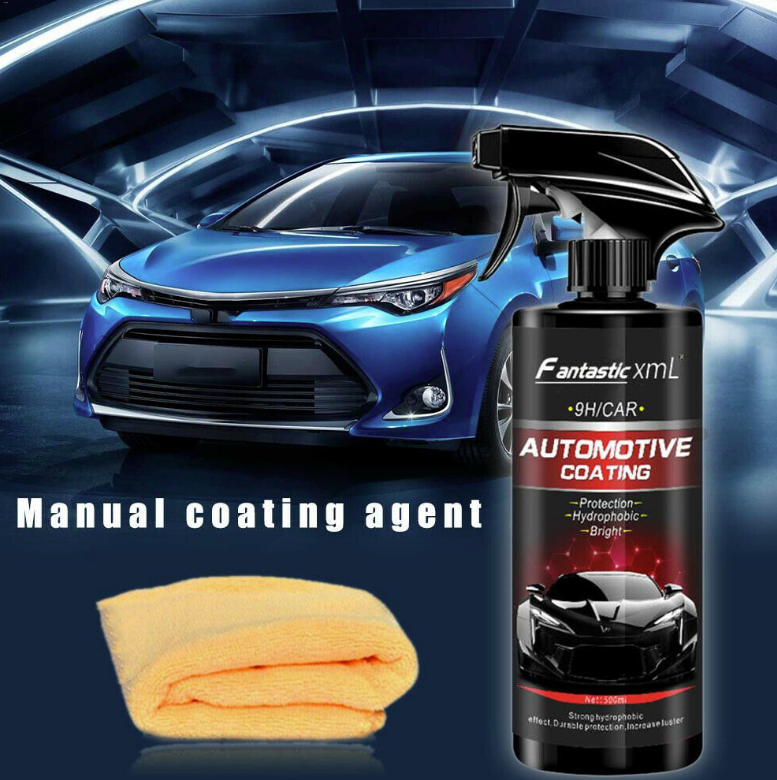 Shine Armor Ceramic Spray Car Polish Spray Sealant Top Coat Nano Coating 500ML 2