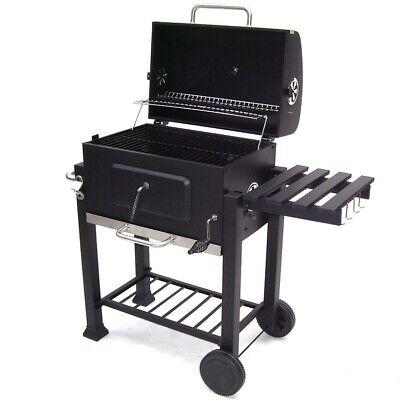 56511 Bbq Barbecue Grill Griglia Carbone Carbonella Ripiano Affumicatore 6