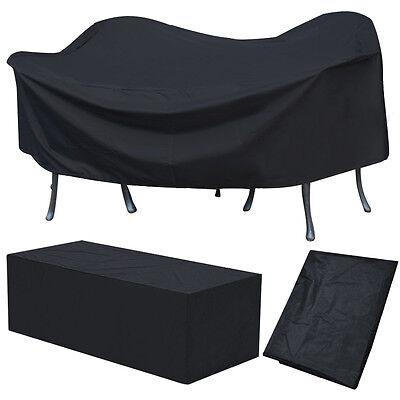 abdeckhaube gartenm bel gartengarnitur regenschutz schutzh lle 307x 136 x 88cm. Black Bedroom Furniture Sets. Home Design Ideas