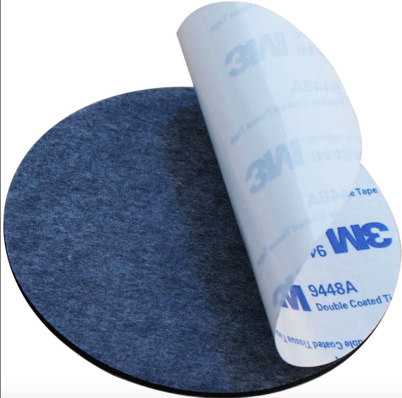3M™ 9448A Double Sided Circle EVA Foam Black & White Pad Self Adhesive Round HQ 3
