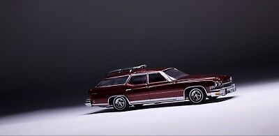 1974 Buick Estate Station Wagon  **RR** Auto World Muscle Wagons 1:64 OVP