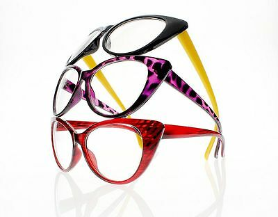 5620cfca94e8 ... 8 Colors Women Retro Vintage Cat Eye Reading Glasses Readers +1.0 ~ +4.0  New